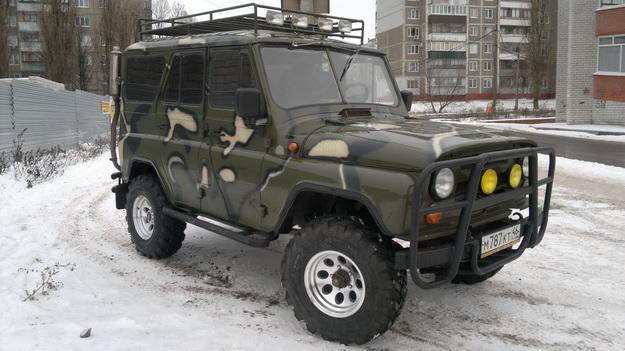 Курск - покрышки King Cobra Extreme на УАЗ