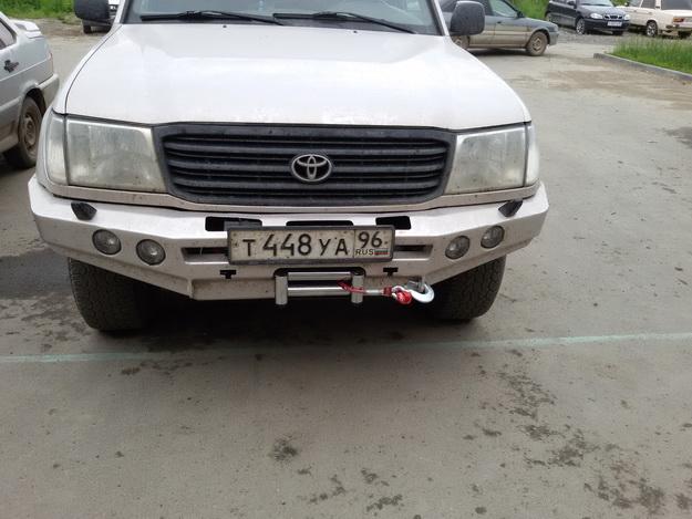 Екатеринбург - cиловые бампера Toyota Land Cruiser 105