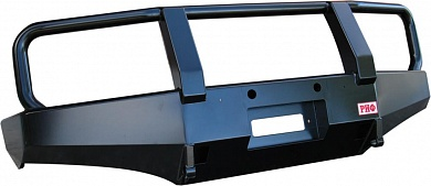 Бампер передний Nissan Navara D40/Pathfinder R51 с кенгурином до 2009