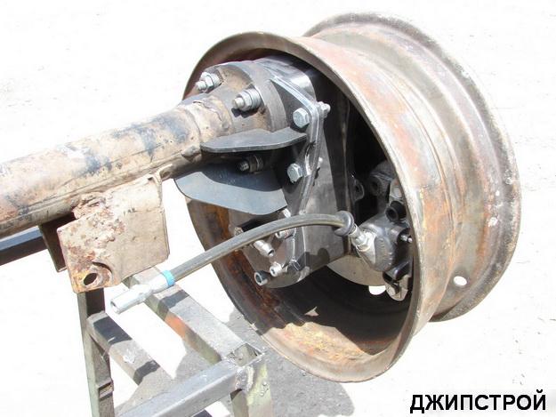 Колёсные редуктора УАЗ и НИВА с центральной подкачкой
