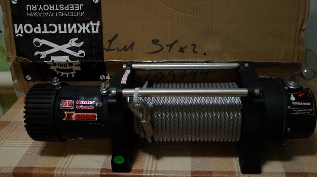 Лебёдка MasterWinch X 9.500
