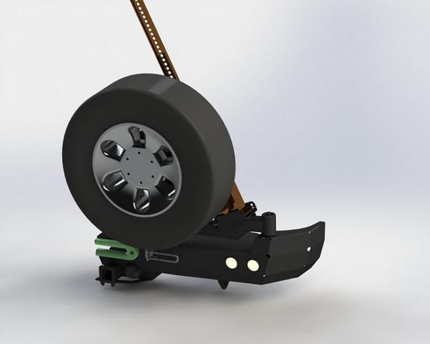 Калитка для силового бампера