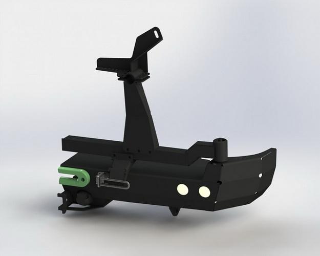 Калитка для силовых бамперов