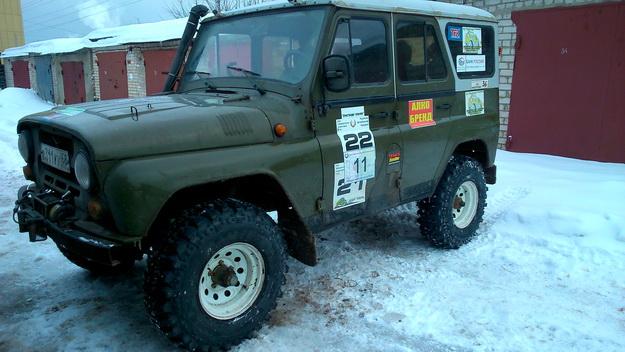 Шины SIMEX 32х10,5 R15 на УАЗ