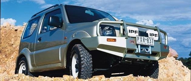 Бампер передний ARB Winch для Suzuki Jimny до 2011 года ( Бензин )