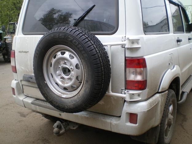 Калитки под запаски на УАЗ