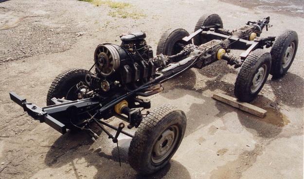 6 – колёсные редукторы
