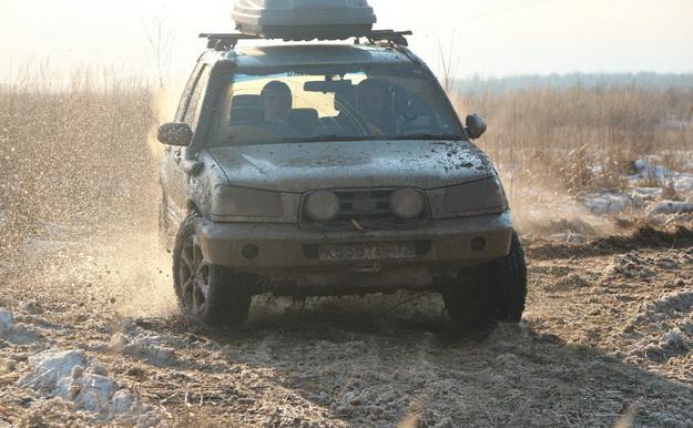 ПружиныIronman наSubaru Forester