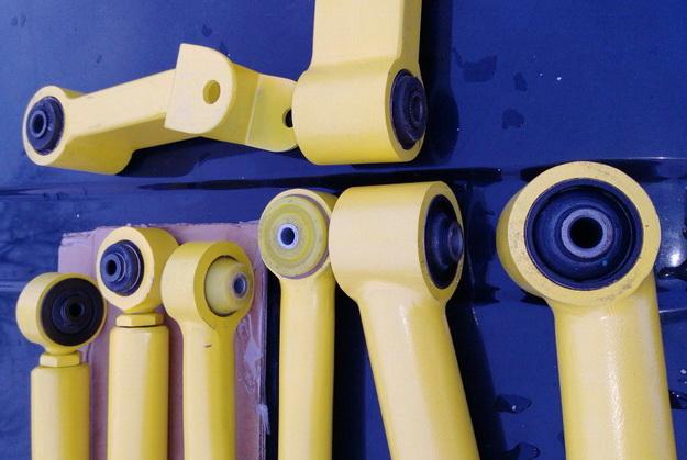 Усиленные пружины и рычаги подвески JEEP (Xj-Zj-Wj-Tj)