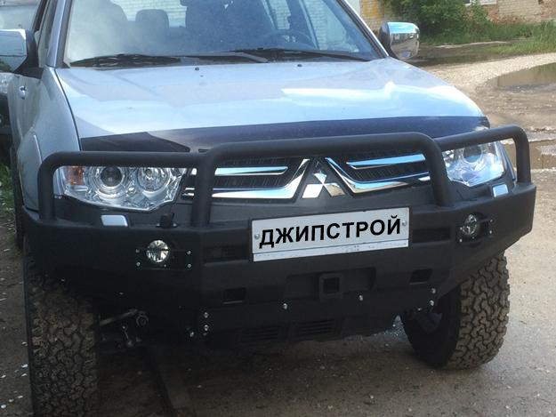 Передний бампер АМЗPajero Sport new