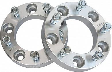 Проставки колесные РИФ для TLC105 5x150, центр. отв. 108 мм, толщ. 30 мм, 14x1.5 (2 шт.)