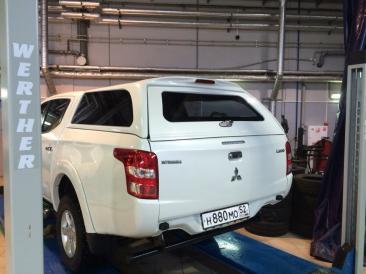 Кунг SKAT2 на Mitsubishi L200 Long 2013-2015