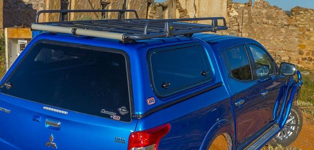 Кунг ARB CLASSIC TXT DC для Toyota Hilux Revo с 2015 года.