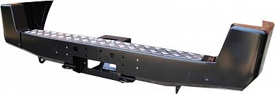 Бампер задний UAZ Patriot с площадкой под лебедку стандарт