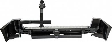 Бампер задний УАЗ Патриот с квадратом под фаркоп и калиткой стандарт