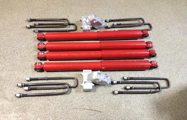 Лифт-комплекты подвески для моделей УАЗ Хантер, УАЗ Патриот, УАЗ 452, 3741