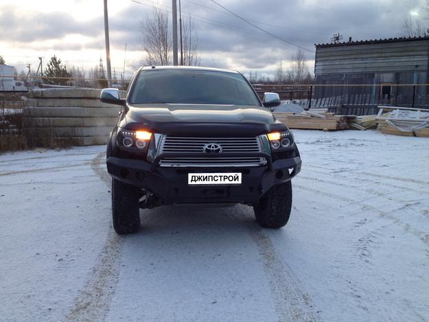 Силовые бмпера на Toyota Tundra