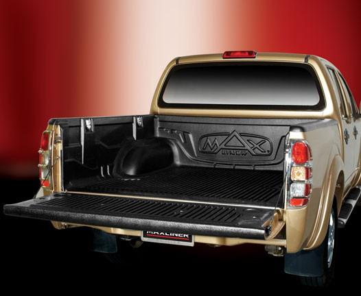 Вставка в кузов для Nissan Navara (под борт)