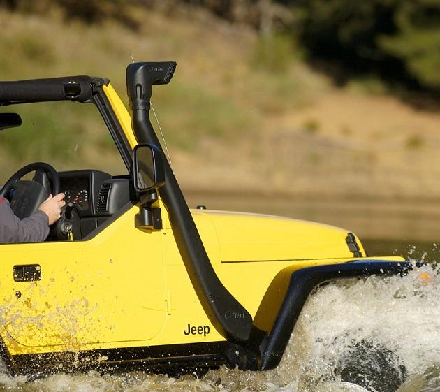 Шноркель Safari для Jeep Wrangler TJ с 1999 года.