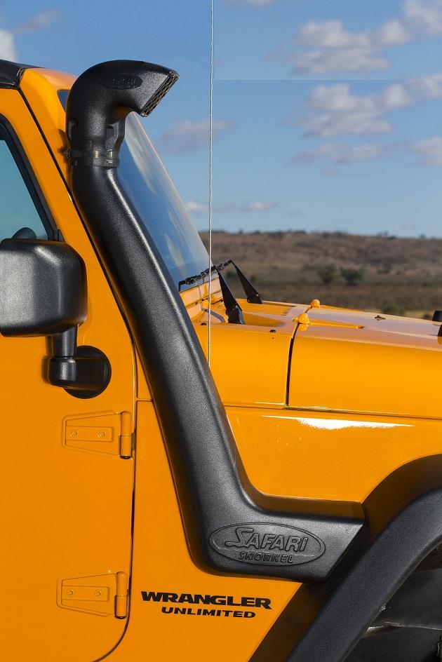 Шноркель Safari для Jeep Wrangler JK. Бензин 3,6 L