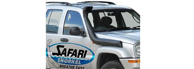Шноркель Safari для Jeep Cherokee Liberty KJ с 2002 года. Бензин,Дизель.