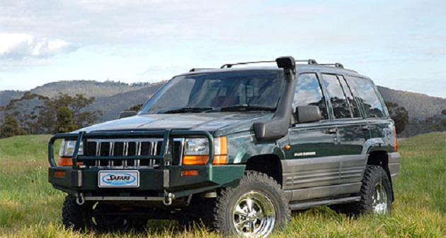 Шноркель Safari для Jeep Grand Cherokee ZJ. SS1120HF