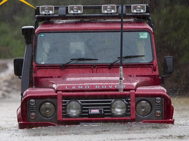 Шноркель Safari для Land Rover Defender с 2008 года 2.4TDI.