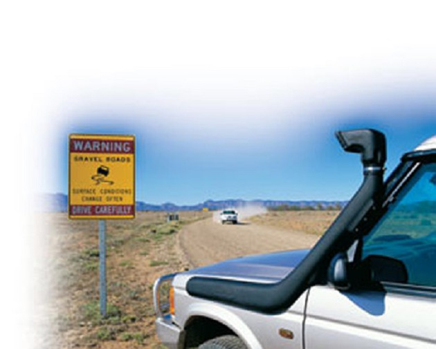 ARB: Шноркель Safari для Land Rover Discovery II