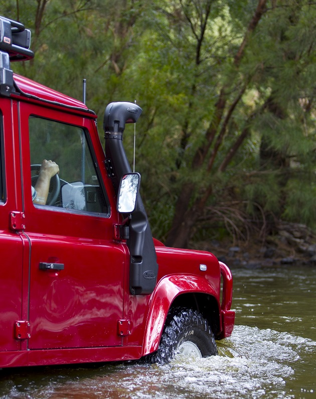 Шноркель Safari для Land Rover Defender TD5 2.5 LHD.
