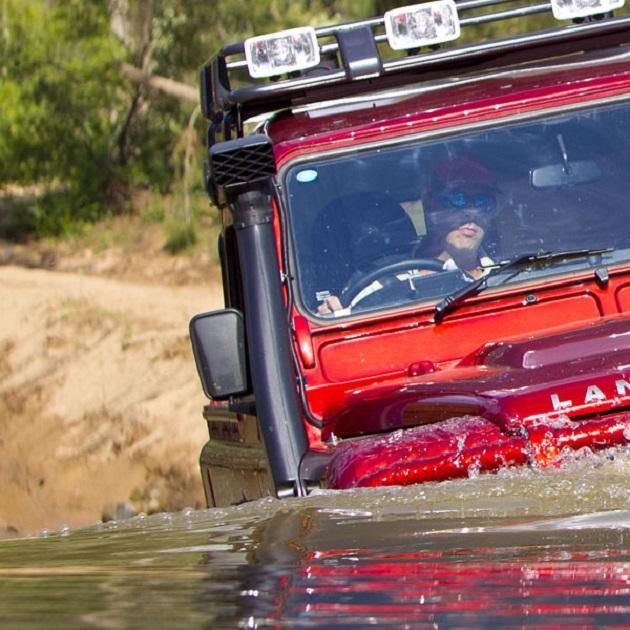 ARB: Шноркель Safari для Land Rover Defender Puma diesel