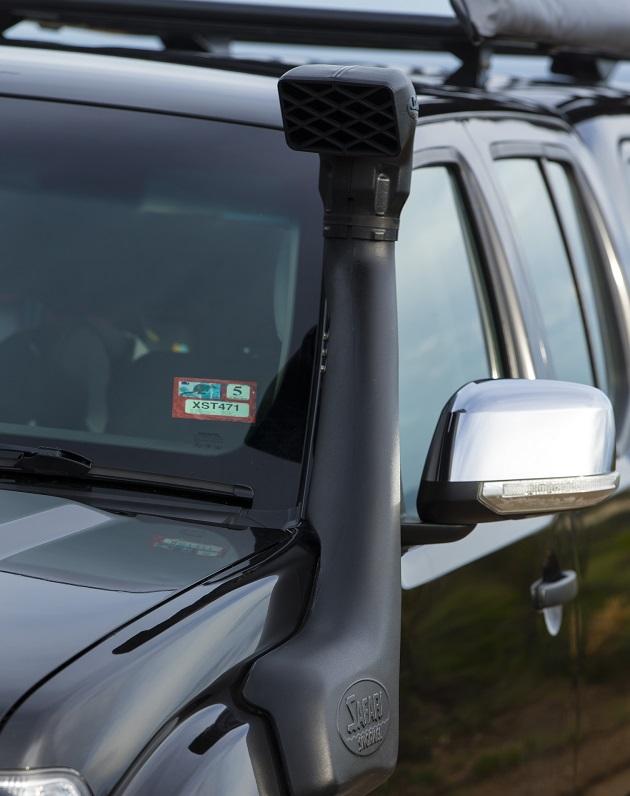 Шноркель Safari для Nissan Navara D40 / Pathfinder R51 c 2010 года.
