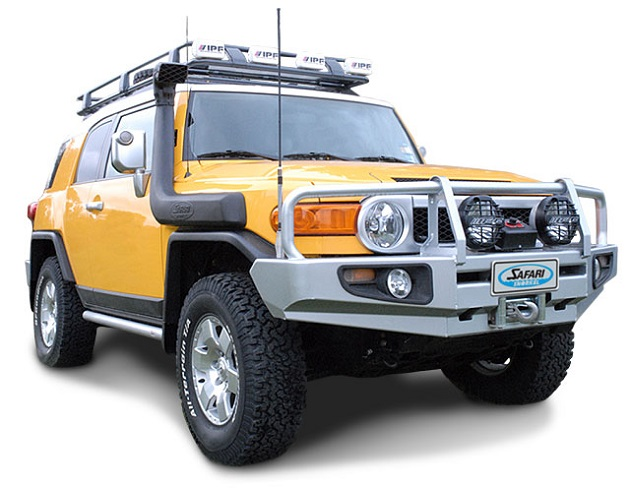 Шноркель Safari для Toyota FJ Cruiser. 4.0 Litre Бензин. Models With Cyclone Air Pre-Cleaner До 2010 года.