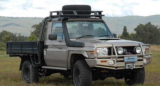 Шноркель Safari для Toyota Land Cruiser 70. On - 1HZ.