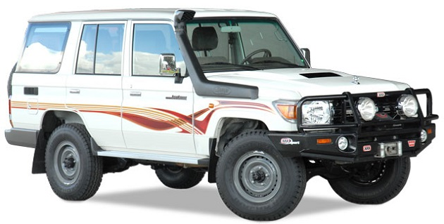 Шноркель Safari для Toyota Land Cruiser 70.
