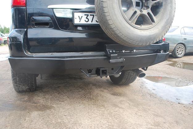 Задний силовой бампер Lexus GX470