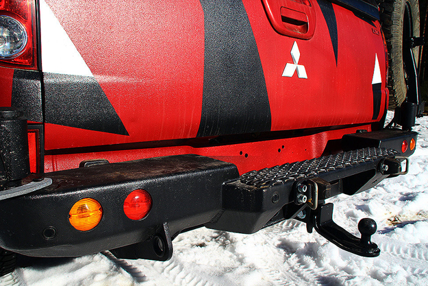 Задний силовой обвесMitsubishi L200 IV Triton