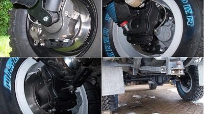 Бортовые редуктора Tibus Land Rover Defender