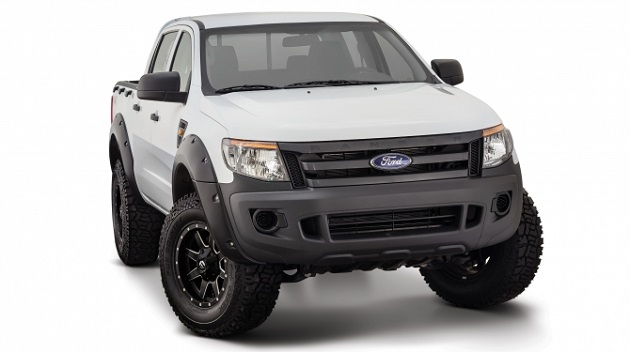 Расширитель колёсных арок Bushwacker Ford Ranger T6 (2011-2014) Pocket Style