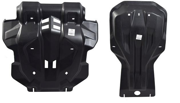 Защита картера, радиатора, КПП и РК Toyota Hilux (композит 10 мм)