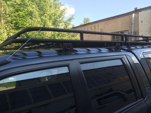Алюминиевый багажник Mitsubishi L200 кунг
