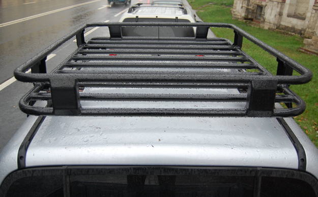 Алюминиевый багажник Mitsubishi L200 Люкс