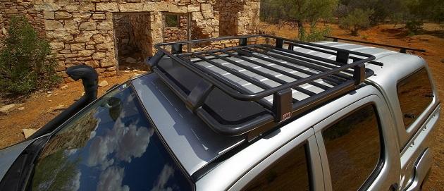 Багажник ARB на крышу кабины водителя Deluxe 1250x1120 мм. С установочным комплектом для Toyota Hilux Vigo с 2005 года