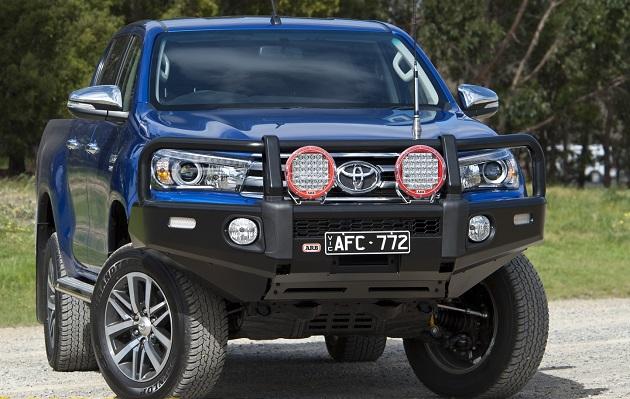 Бампер передний ARB SUMMIT W/BAR для Toyota Hilux Revo с 2015 года