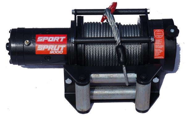 Лебедка электрическая Спрут-11000 12V