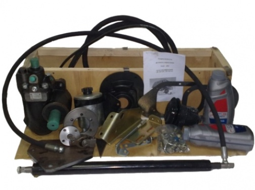 Гидроусилитель руля для УАЗ 452 двигатель ЗМЗ-409 с механизмом УАЗ 3303 (лифт 50-100мм)