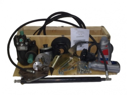 Гидроусилитель руля для УАЗ 452 двигатель УМЗ-421 с механизмом УАЗ 3303 (без лифта/лифт 50-100 мм)