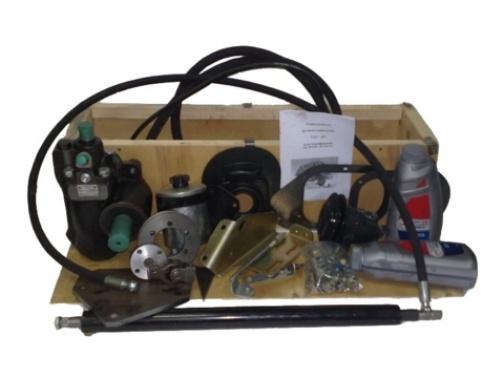 Гидроусилитель руля для УАЗ 452 двигатель ЗМЗ-402, 410 с механизмом Газель, Соболь (лифт 50-100 мм)