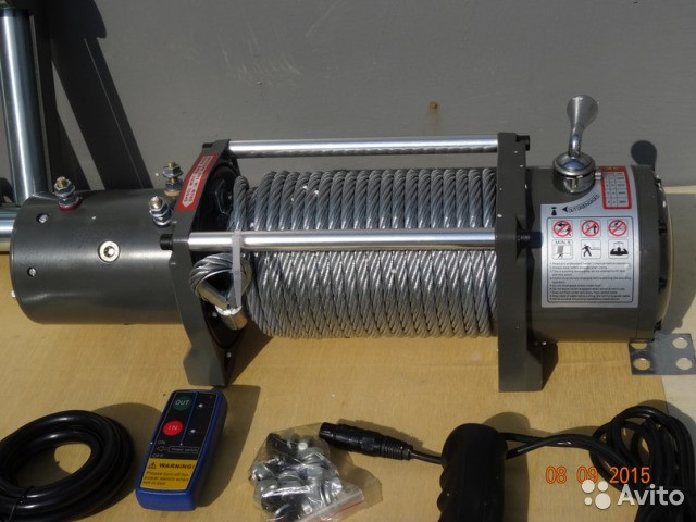 Electric Winch 12.000 серый