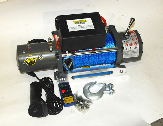 Electric Winch 9.500 с кевларом и без