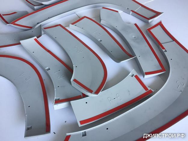 Расширители арок Land Cruiser PRADO 150